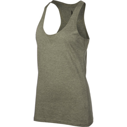 Fitness The Sitka Women's Balanced Tank Top gives you the kid of effortless sexiness you can only get by wearing an ex's old T-shirt'but without all the emotional baggage. - $24.95