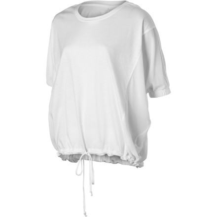 Fitness The Sitka Women's Sabina Long-Sleeve Shirt has a cool, airy feel and brings an artistically aloof  vibe that is perfect for swanky summer parties. The flowing fabric creates a sense of movement that begs for a breeze or at least one of those huge fans that models stand in front of during photo shoots. - $74.95