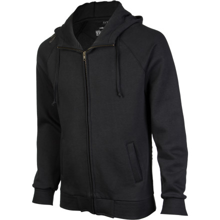 Surf The Sitka 2nd Peak Surf Raglan Full-Zip Hoodie features soft, warm, heavyweight cotton/poly fabric, raglan sleeves for maximum mobility, and a three-panel hood with invisible stash pocket. - $55.97
