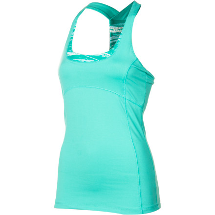 Fitness If you're looking to kick your workout regiment into high gear this summer, pull on the Soybu Women's Uptempo Tank Top. Made from a stretchy eco-friendly polyester, this tank manages moisture, dries quickly, and allows you to move. Plus its built-in bra negates the usual clean-sports-bra search. - $47.95
