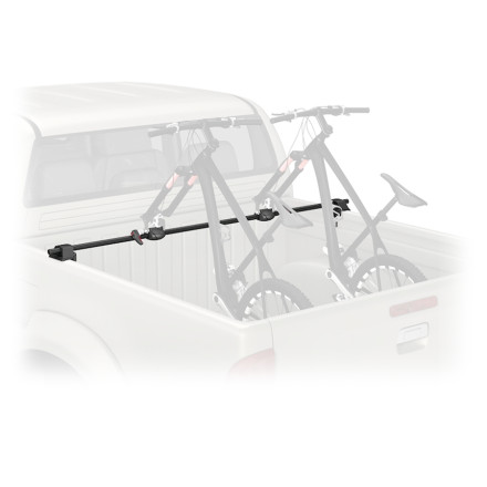 Instead of allowing your bikes to bounce around in the bed of your truck, simply install the Yakima BikerBar w/Locksno drilling or tools required. The included SKS lock cores securely lock the bikes to the rack and the rack to your truck to deter would-be bandits. Plus, the bar is available in two sizes for compatibility with mid- and full-size trucks. - $206.10