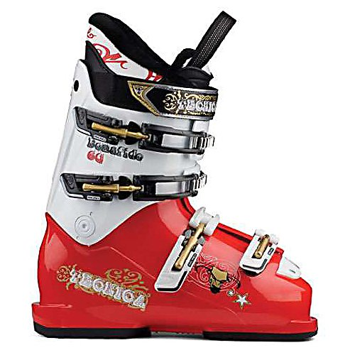 Ski Tecnica Bonafide 60 SM Kids Ski Boots - The Tecnica Bonafide 60 Ski Boots are great for the intermediate junior skier that knows their way around the mountain. Whether your child wants to play in the park, pipe or just carve into the mountain, these Bonafide Boots are a great choice. Its Fur Fleece Lining is very soft and cozy but will also make it easier for them to slip their feet inside. There's a Hook-and-Loop Powerstrap to keep them locked in and 4 buckles with micro-adjustable buckles to customize the fit so they feel comfortable all day while skiing. With a medium flex of 60 and a sharp red and white style, your junior skier will love every moment on the mountain while wearing these Tecnica Bonafide 60 Ski Boots. . Actual Flex: 60, Cuff Alignment: Dual, Warranty: One Year, Special Features: Progressive Flex System, Ski Boot Width: Junior, Special Features: Hook-and-Loop Fastener Strap, Flex: Medium, Used: No, Ski/Walk: No, Prewired For Heat: No, Number of Micro Buckles: 4, Forefoot Width: Junior Last, Flex Adjustment: No, Buckle Count: 4, Buckle Material: Not Specified, Category: Downhill, Ski Gear Intended Use: All Mountain, Instep Height: Medium, Calf Volume: Medium, Liner Quality: Sport, Skill Range: Intermediate - Advanced, Model Year: 2012, Product ID: 316927, Model Number: 30122300 180, GTIN: 0883506961170 - $79.90