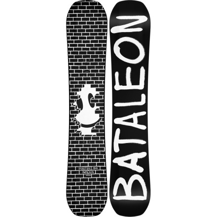 Snowboard If you're planning on spending a lot of time in the streets this winter, you'll need a jib board that's up to the challenge. The Bataleon Disaster Snowboard was meant to be pressed, slid, buttered, and bonked from the terrain park to downtown. Triple Base Technology uses a profiled convex base shape that combines the loose, forgiving feel of a rocker board with the pop of camber for easier landings without washing out. The wood-composite Toughcore has a super-soft flex that's perfect for jibbing, yet still very strong so it won't snap halfway through the season. - $221.97