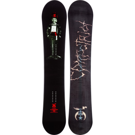 Snowboard When the snow starts piling up, get your Compatriot Commissioner Snowboard waxed up and ready to slay some powder bright and early.  It has a rockered tip to help you float effortlessly through waist-deep snow, and it's cambered underfoot so you still have control when you hit the occasional groomer. - $284.97