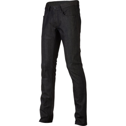 The Commune Men's Carl Slim Denim Pant provides streetwise style you can rock anywhere. Unwashed denim and a slim fit give it a clean look that will make it an instant staple of your wardrobe. - $60.00