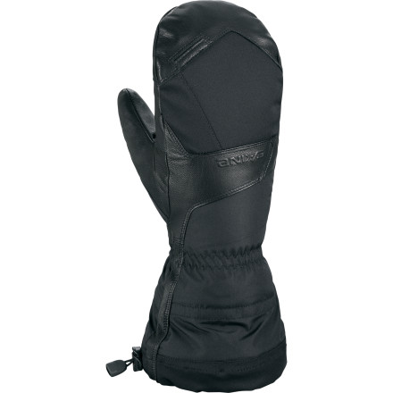 You can't just quit riding when the temperatures dip into the single digits. Keep the season (and your fingers) going with the DAKINE Ranger Mitt. 280 grams of Primaloft insulation protect your hand from the cold, and a legendary Gore-Tex membrane takes care of moisture so you never have to worry about the frozen-to-the-bone feeling that wet fingers can get. - $76.97