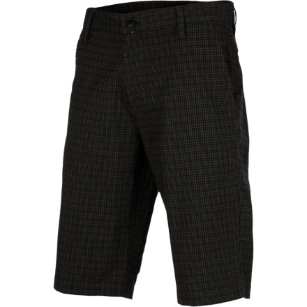 The Fourstar Troost Short hooks up modern chino style with cotton twill fabric, rear welt pockets, and a tailored fit. - $34.46