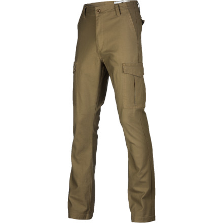 Skateboard Stay true to your style in the Fourstar Men's Cargo Pant. Fourstar's standard fit provides the relaxed look and feel you love, and stretch cotton twill fabric is flexible for freedom of movement. Plus, it's lightweight so you don't roast on the pavement when the heat is on during summer skate sessions. - $51.95