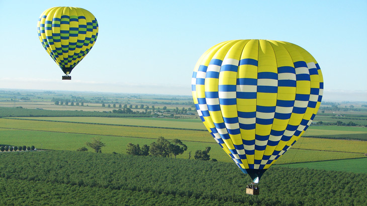 Extreme Rolling across the Napa Valley California wine country in a balloon basket is on my bucket list. For more info go to www.balloonrides.com