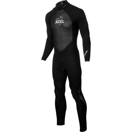 Surf Mild-weather surfing calls for a suit like the XCEL Hawaii Men's 3/2 SLX Backzip Wetsuit. Both flexible and affordable, this warm, comfortable suit won't require you to sacrifice your piggy bank at the alter of surfing. Wind-resistant rubber, two types of stretch neoprene, and an insulating lining fend off whipping winds and frigid surf, and a neoprene inner dam keeps water from creeping in at the back zipper. XCEL outfitted this suit with an offset back zipper to help relieve pressure on your spine; a design touch that's often ignored, even in some higher-end suits. To complete the package, the SLX features seams that are minimal and pre-bent to match the shape and contour of your body for comfort. You shouldn't hesitate to consider this suit if you're an intermediate surfer on a budget or a beginner who lives where the water requires a full-length cut and the warmth of 3/2mm thickness. - $143.96