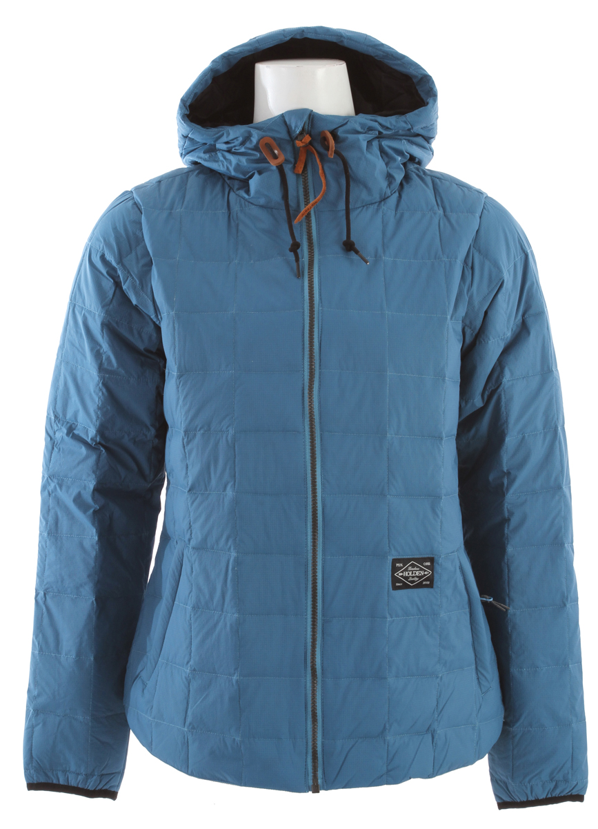 "Wear it alone on a brisk day or as a cozy layering piece on cold days, ""It is like wearing a sleeping bag."" The Cumulus jacket packs into an interior pocket. Key Features of the Holden Cumulus Down Jacket: Fabric: False Twist Recycled Poly Lining 80/ 20 PFOA-Free DWR Water Repellency Treatment Adjustable Hood Packable Pocket 160gm 80/ 20 Down Fill - $124.95"