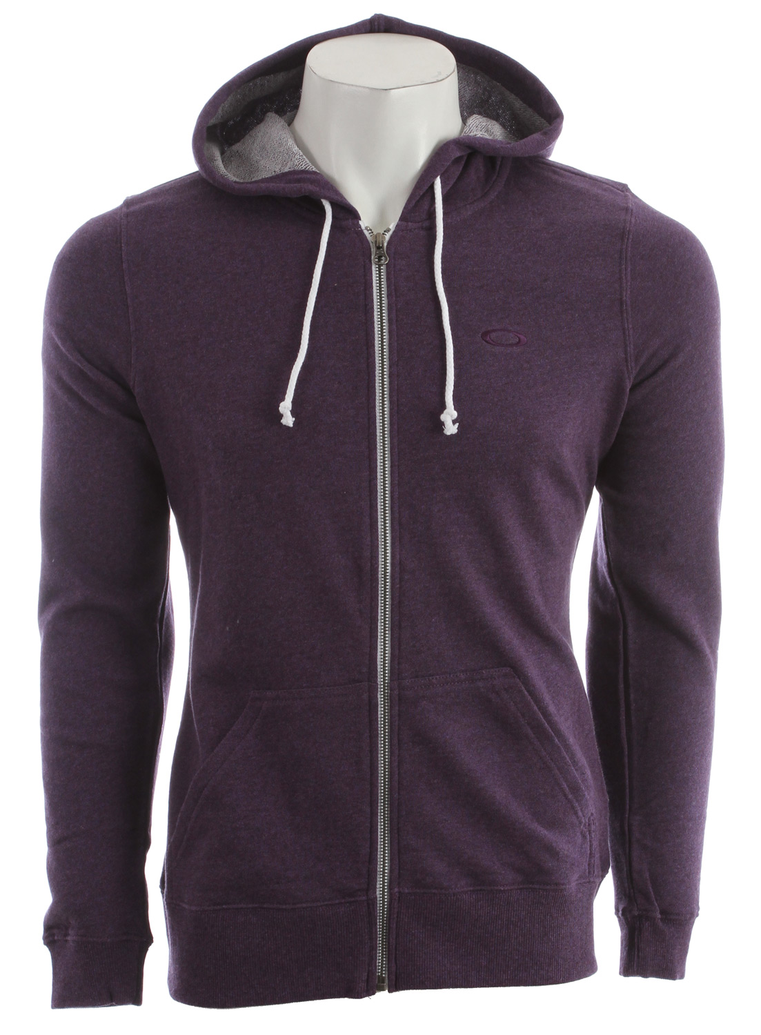 "Our lightest French terry cotton yet, whipped to perfection in a classic zip front hoodie with a had-it-forever vintage feel. The kind of cozy layer destined for nonstop wear. 27"" hpsKey Features of the Oakley Coastline Hoodie: 78% cotton/22% polyester - $54.00"