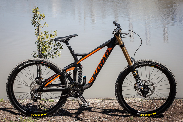 MTB Kona Unveils Carbon Operator