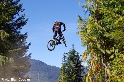 MTB The Whistler Mountain Bike Park near Vancouver is probably the ultimate destination for mountain bikers.  Plan your spring trip now at whistlerbike.com