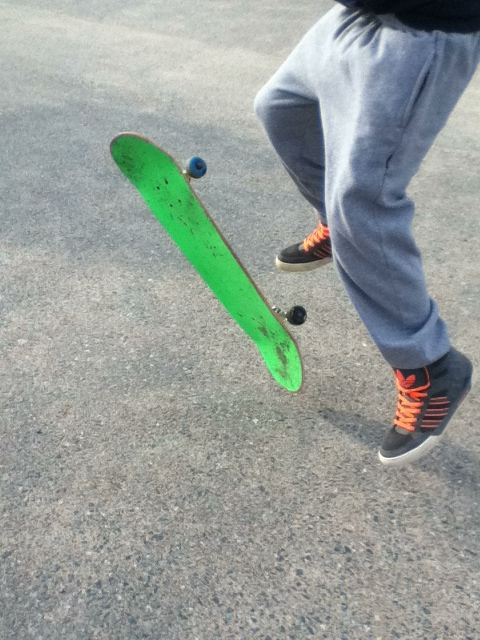 Skateboard fast cam awesome :P