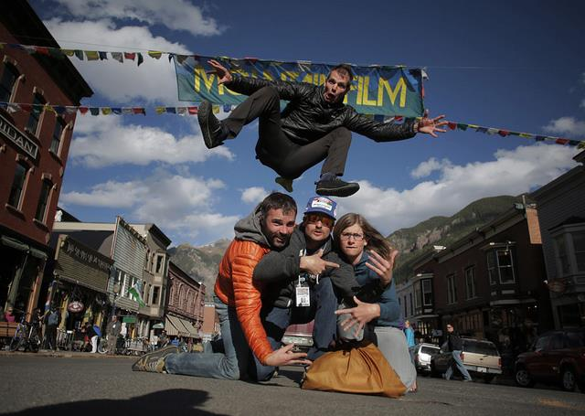 Entertainment This crew is going to Mountainfilm in Telluride this weekend. Are you?