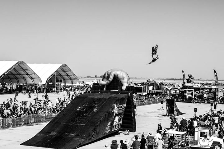Motorsports PHOTO OF THE DAY: Julian Dusseau going big at the Naval Air Facility El Centro Air Show. See the full gallery at http://www.metalmulisha.com/photos/