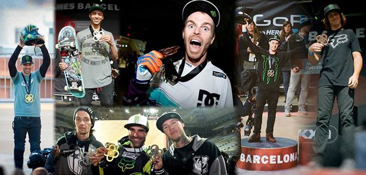 Motorsports The Monster Energy boys continued the domination at X Games Barcelona taking 10 medals! http://monsterne.ws/18l5Fno