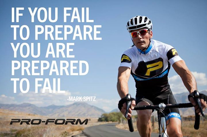 Fitness If you fail to prepare, you are prepared to fail!
