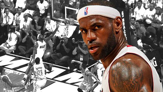 Sports LeBron James says Michael Jordan's scouting report on him is WRONG: http://es.pn/12QUOPW