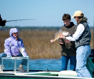Fishing Headshaker Charters offers inshore fishing in the Charleston SC area.  Your USCG captain, Legare Leland, has spent a lifetime on the water.  www.headshakercharters.com