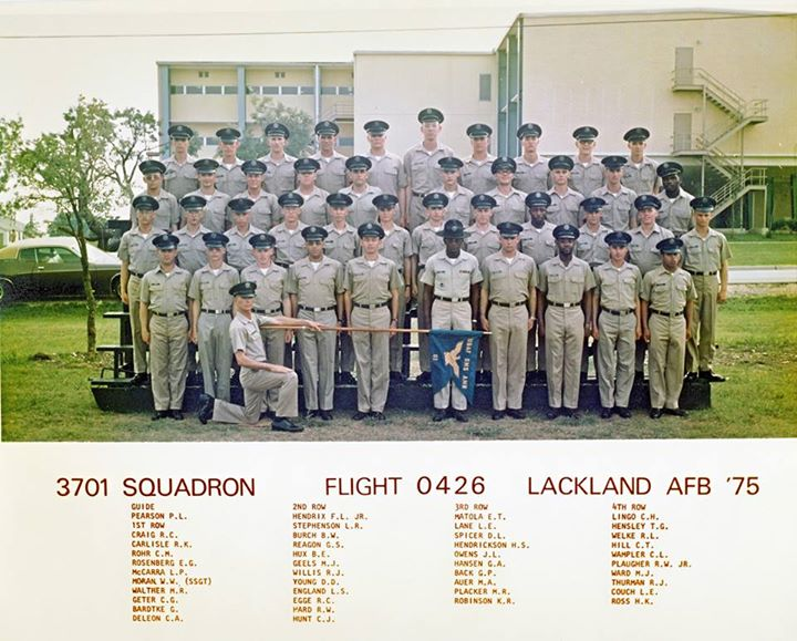 Guns and Military It's Throwback Thursday! We'd like to give a shout out to Basic Military Training Flight 0426 from May 1975. To check out more photos of graduated BMT flights, visit http://1.usa.gov/12Me4B2.