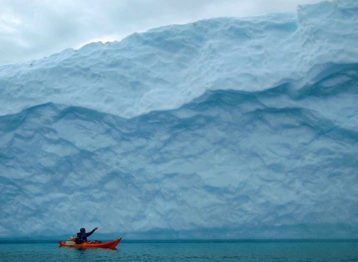 Kayak and Canoe Here's something for your bucket list....exploring icebergs in Greenland! Who wants to go?