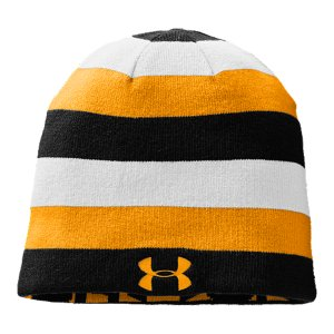 Fitness Form-fitting beanie keeps you warm on the sideline, on the slopes, or around townStriped side features a UA logo and reverses to a solid color with an Under Armour(R) wordmarkMen's one size fits allPolyesterImported - $29.99