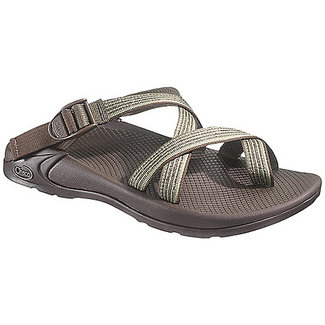 Surf Free Shipping. Chaco Men's Zong EcoTread Sandal DECENT FEATURES of the Chaco Men's Zong EcoTread Sandal Soft webbing wraps your feet for a secure and custom fit 25% recycled rubber outsole with all purpose tread design The SPECS Weight: 13.76 oz / 390 g The SPECS for Upper Polyester jacquard webbing upper Cement construction Custom adjust'em fit The SPECS for Midsole ChaPU polyether polyurethane midsole Luvseat XO2 platform The SPECS for Outsole Classic outsole with EcoTread rubber 1.5-2 mm lug depth All purpose tread design Non-marking - $79.95