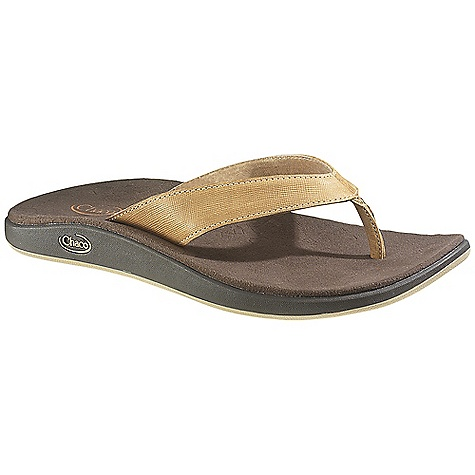 Surf Free Shipping. Chaco Women's Derby Sandal DECENT FEATURES of the Chaco Women's Derby Sandal Suede leather and printed canvas combine for a stylish blend of materials Low-profile midsole provides sleek and supportive fit 25% recycled EcoTread rubber outsole performs on wet or dry surfaces The SPECS Weight: 7.40 oz / 211 g The SPECS for Upper Full-grain leather upper Pigskin linin g Cement construction Fixed fit The SPECS for Midsole Microsuede lined ChaPU polyether polyurethane footbed Luvseat XO2 platform The SPECS for Outsole New Chill outsole with EcoTread rubber 2.5mm lug depth All-purpose tread design Non-marking - $79.95