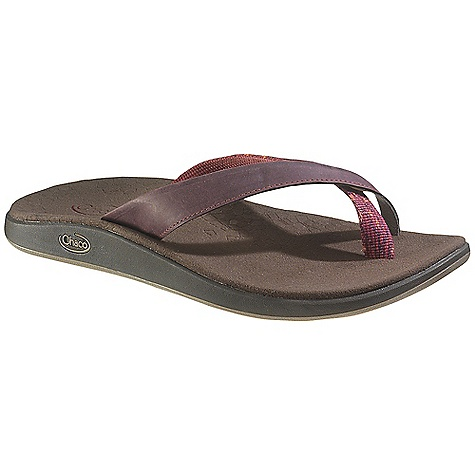 Surf Free Shipping. Chaco Women's Mitchell Sandal DECENT FEATURES of the Chaco Women's Mitchell Sandal Toe loop secures your foot in soft comfort Suede leather and canvas create a stylish blend of materials 25% recycled EcoTread rubber outsole performs on wet or dry surfaces The SPECS Weight: 7.50 oz / 213 g The SPECS for Upper Full-grain leather upper with polyester jacquard webbing Pigskin linin g Cement construction Fixed fit The SPECS for Midsole Microsuede lined ChaPU polyether polyurethane footbed Luvseat XO2 platform The SPECS for Outsole New Chill outsole with EcoTread rubber 2.5mm lug depth All-purpose tread design Non-marking - $74.95