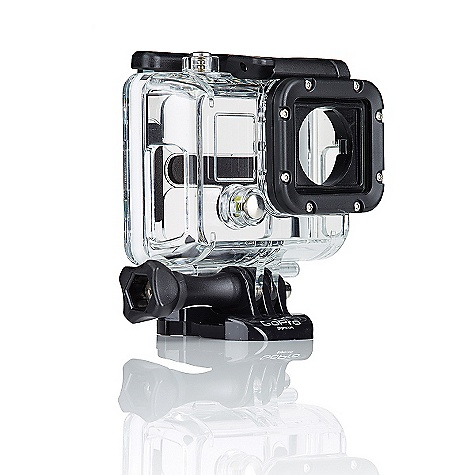 Camp and Hike Free Shipping. GoPro HERO3 Skeleton Housing FEATURES of the GoPro HERO3 Skeleton Housing Has open sides to allow cables to be plugged into your camera for live-feed video, charging, cooling and enhanced audio at low speeds Compatible with Hero3 cameras only 1 Skeleton Housing, 1 Skeleton Backdoor, 1 Quick-Release Buckle, 1 Long Thumbscrew The Skeleton Housing is not waterproof - $49.99