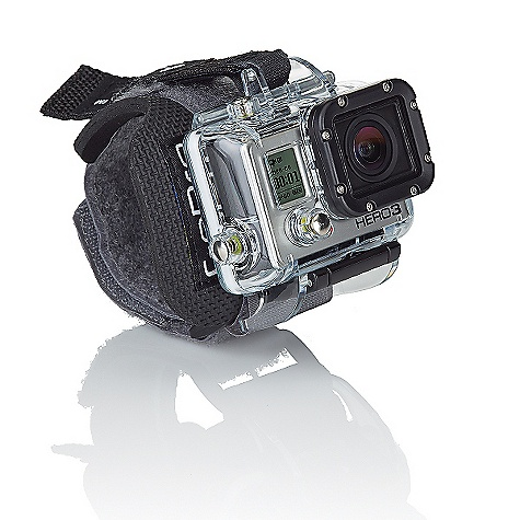 Camp and Hike Free Shipping. GoPro HERO3 Wrist Housing DECENT FEATURES of GoPro HERO3 Wrist Housing Wears like a watch for easy access Capturefootage on the fly The Wrist Housing secures your HERO3 flat against your wrist Quickly pivot the camera upright to shoot photos or video Delivers maximum image sharpness above and below water Waterproof to a depth of 197'/60m. Includes: 1 Wrist Housing 1 Neoprene/Velcro Wrist Strap 1 Waterproof Backdoor 1 Skeleton Backdoor 1 BacPac Backdoor This product can only be shipped within the United States. Please don't hate us. - $49.95