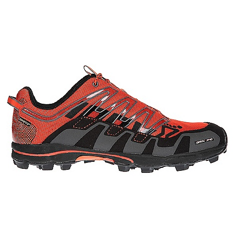 Free Shipping. Inov 8 Oroc 340 GTX Shoe DECENT FEATURES of the Inov 8 Oroc 340 GTX Shoe Weight: 12.0 oz / 340 g Fit: Performance Upper: Synthetic, TPU Lining: Mesh Footed: 3 mm Midsole: EVA Shoc Zone: 3 Differential: 9 mm Sole: Oroc Compound: Sticky - $199.95