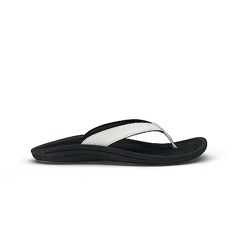 Surf Free Shipping. OluKai Women's Kulapa Kai Sandal DECENT FEATURES of OluKai Women's Kulapa Kai Sandal   UPPER: Water-resistant synthetic leather strap with soft, quick-drying jersey knit lining and neoprene backer.   FOOTBED: Anatomical compression-molded EVA midsole with an EVA drop-in footbed for comfort and support.   OUTSOLE: Non-marking rubber outsole withocean-inspired traction pods with molded siped ridges.   FEATURES: Soft nylon toe post webbing with laser-etched footbed design.    CARE: Wash with mild soap and cold water - $59.95