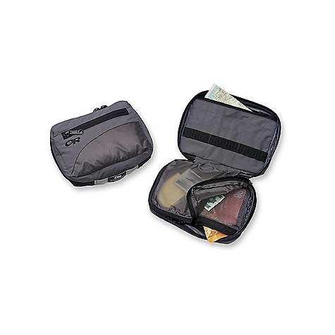 Entertainment Features of the Outdoor Research Backcountry Organizer Water Resistant Zippered Mesh Compartment Multiple Internal Organizer Pockets - $32.00