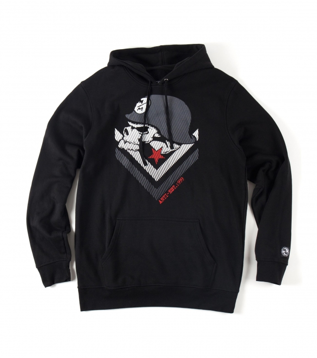 Motorsports Metal Mulisha Mens pullover hoodie.  80% Cotton / 20% Polyester pullover fleece with front screen. - $24.99