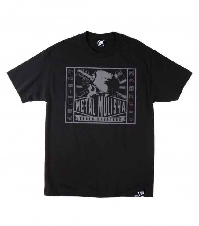 Motorsports Metal Mulisha Mens Tee.  100% Cotton.  Screenprint. - $16.99