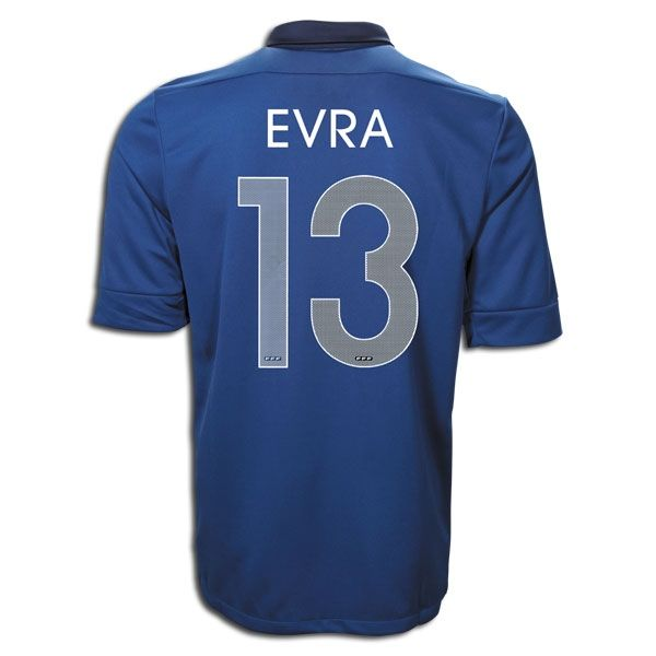 Entertainment EVRA France Home Soccer Jersey 2011/2012