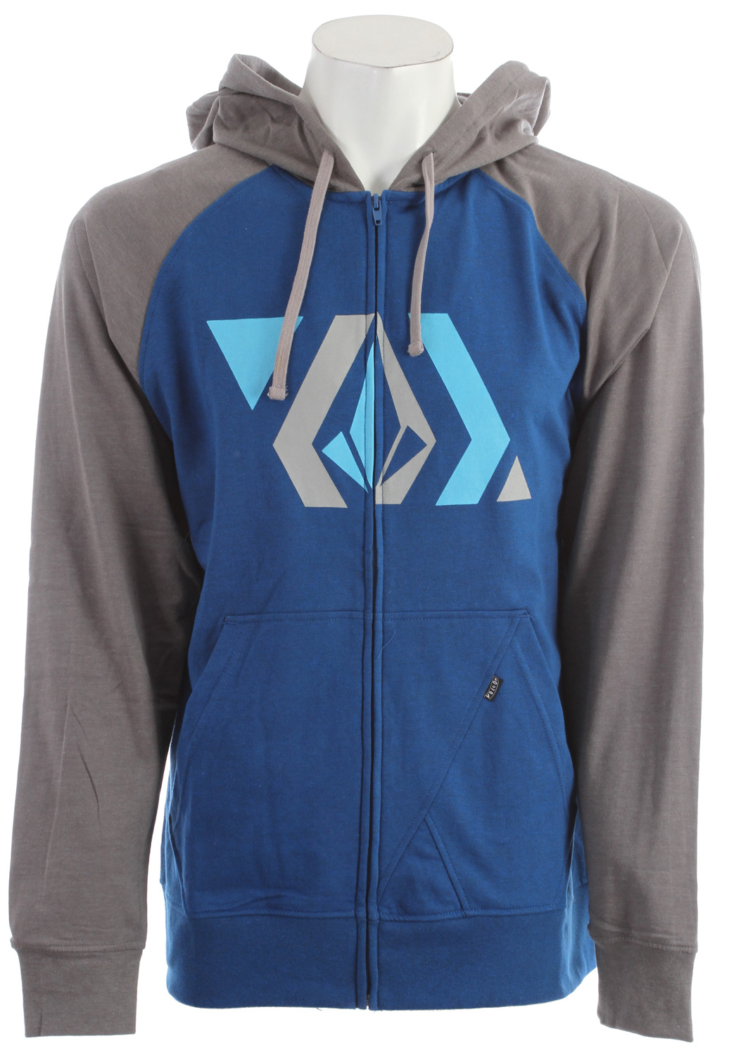 Surf The Volcom Stone Shapes Hoodie is a unique garment produced with high-quality knitted yarn to form a nice heather fabric. Heather gives it a nice, soft feel while helping insulated during the colder months, making the Volcom Stone Shapes a perfect hoodie for chilly fall nights and winter days. With a fully adjustable drawstring hood to help maximize its cold-weather potential, the Stone Shapes is an excellent choice to help keep you warm year round. Fans of the Volcom brand will also be proud to boldly display their emblem, which features prominently in the design.Key Features of the Volcom Stone Shapes Hoodie:  Heather slim zip hood  Contrast hood and raglan sleeves  2-tone drawcords  Stone panel pocket detail  Pre-Shrunk  Slim fit  55% Cotton / 45% Polyester heather fleece, 220-230gm - $24.95