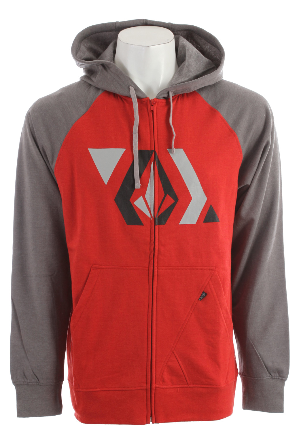 Surf Key Features of the Volcom Stone Shapes Hoodie: Heather slim zip hood Contrast hood and raglan sleeves 2-tone drawcords Stone panel pocket detail Pre-Shrunk Slim fit 55% Cotton / 45% Polyester heather fleece, 220-230gm - $35.95