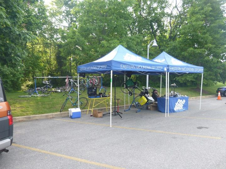 MTB All set up at White clay state park!
