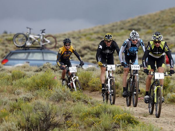 MTB The Leadville Trail 100 mountain biking race. Register by January for the 2013 race.  For info go to www.leadvilletrail100.com