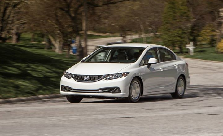 Auto and Cycle 2013 Honda Civic HF Sedan: Living low to medium on the hog. http://cardrive.co/6039k3sv