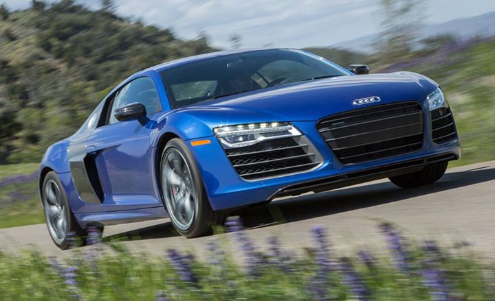 Auto and Cycle Audi's R8 V-10 Plus is the least logical version of our favorite logical supercar—we explain in our review: http://cardrive.co/6033kMAv