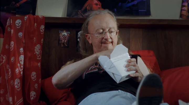 Entertainment HEY MOM! John Clayton's throwing out the first pitch at the Mariners game tonight! http://youtu.be/USHZZ5bwASU  Would you LIKE to see him come out in his SLAYER t-shirt?