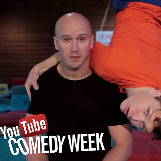 Parkour NEW Walters & Shieff http://t.co/RDkA13qgq1 for YouTube #ComedyWeek on Flow