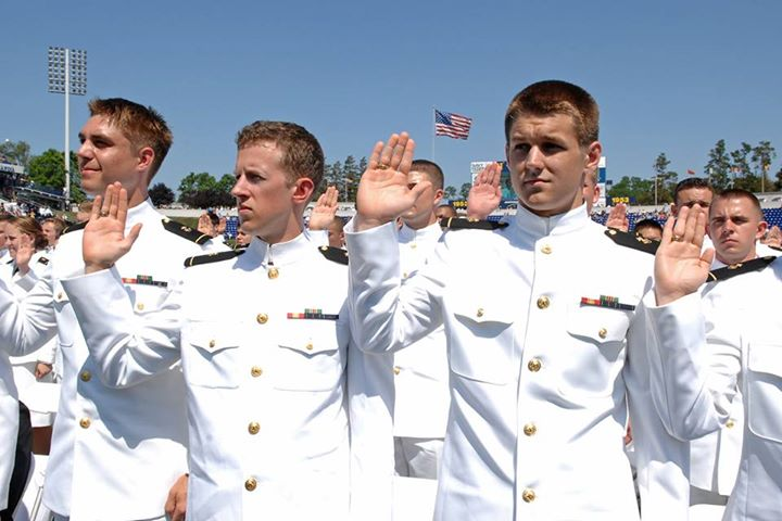 Guns and Military Watch live today starting at 10 a.m. (EDT) as United States Naval Academy midshipmen graduate and enter the fleet: http://ow.ly/lmh5l