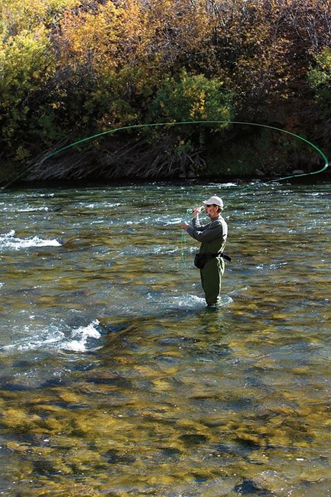 Flyfishing Buck The Wind
