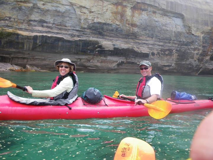 Kayak and Canoe Kayak@Pictured Rocks National Lakeshore! Add it to your bucket list today!www.paddlingmichigan.com